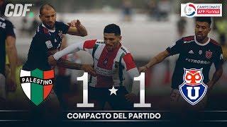 Palestino 1 - 1 Universidad de Chile | Campeonato AFP PlanVital 2019 Segunda Fase | Fecha 1 | CDF