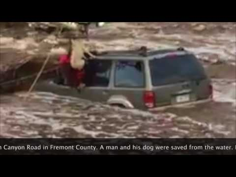 Dramatic water rescue in Fremont County