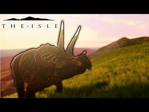 The Isle - REALISM TRIKE PROGRESSION, VOLCANO EXPLORATION & BIGGEST JUMPSCARE EVER ( Gameplay )