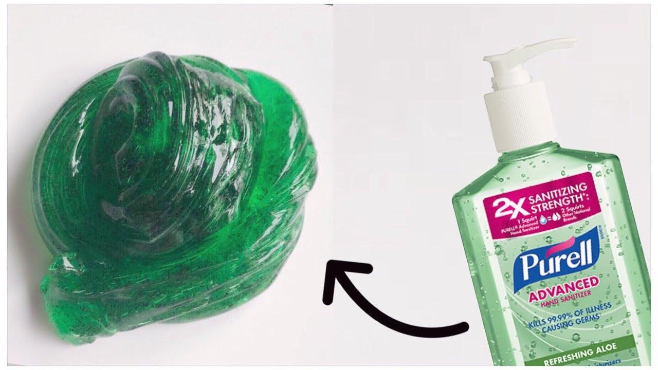 Hand Sanitizer Slime!!✨ Testing No Glue Hand Sanitizer Slime Recipes Part  2!!