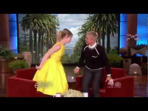 Emma Stone dancing :)