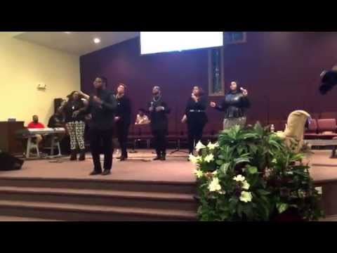 Vincent Tharpe and Kenosis ministering at Brandon Davis & VIP's (Victory In Praise) Sp. Musical 2015