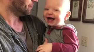 Man Beatboxes with Baby Son