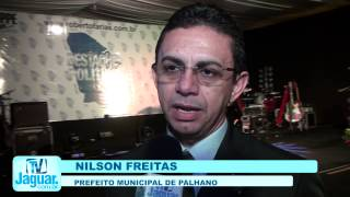 Prefeito do Palhano é tetra no recebimento do prémio melhores prefeitos do Ceará