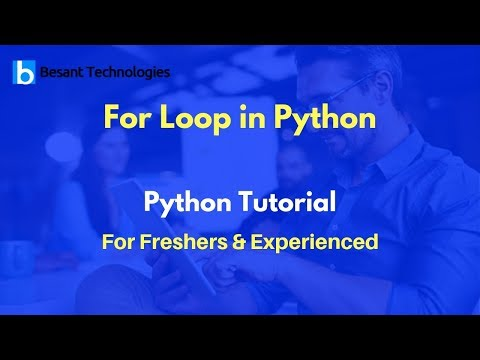 For Loop in Python   Python Tutorial For Beginners thumbnail