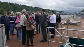 Besichtigung AMADEUS Silver II in Koblenz