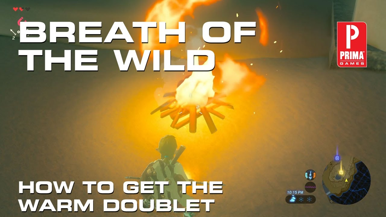 Zelda Breath Of The Wild How To Get The Warm Doublet And How To