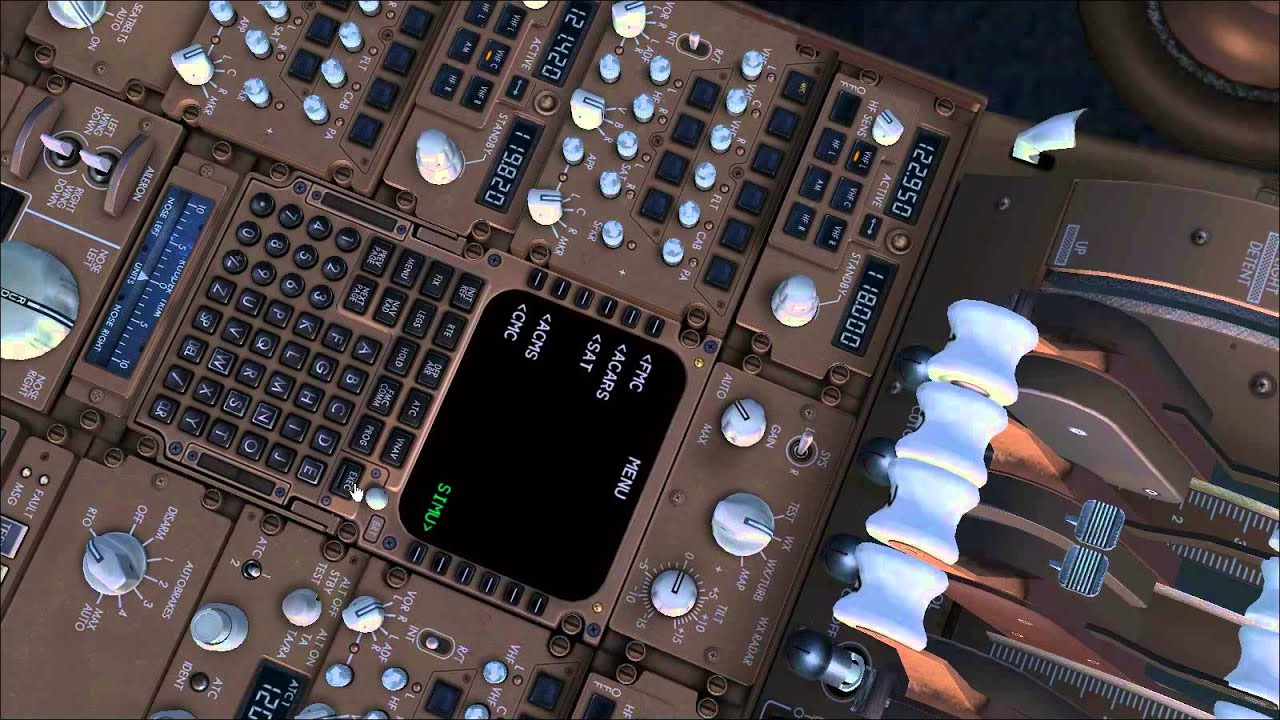 Avgeek'S Life: Ifly 747-400 Cold & Dark Tutorial/Preview (Fs9)  Paolo  Fumagalli