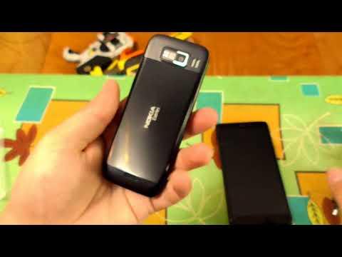 ОБЗОР рефреша из Китая - NOKIA E52 gadget x