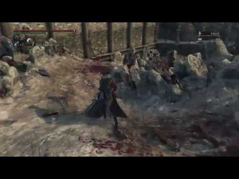 [6] Bloodborne - The Old Hunters - Battle of Blood River Gulch