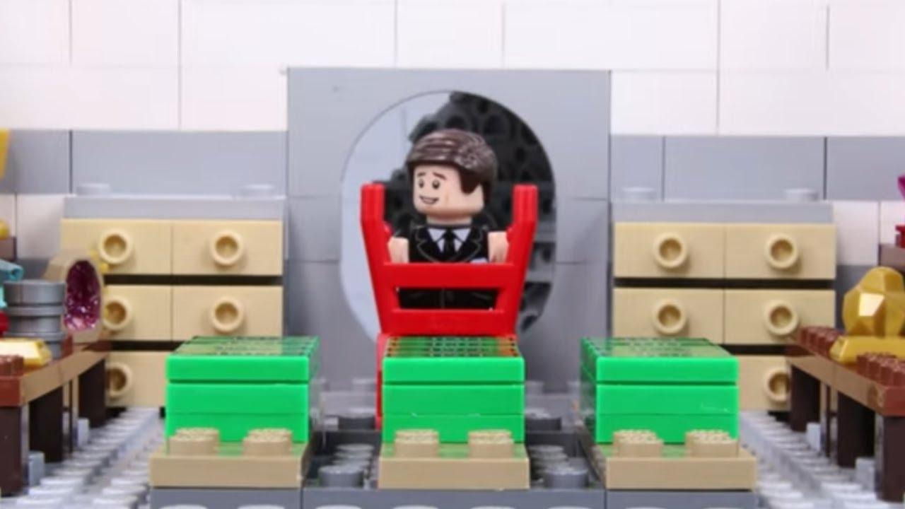 LEGO DC Villains: Bank Robbery! STOP MOTION LEGO Bank Robbery Fail | LEGO Compilation | Billy Bricks