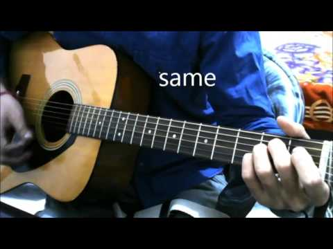 26 JANUARYREPUBLIC DAY - PrACTICE SONG - GUITAR LESSON COVER CHORDS SandesE Aate Hain Border