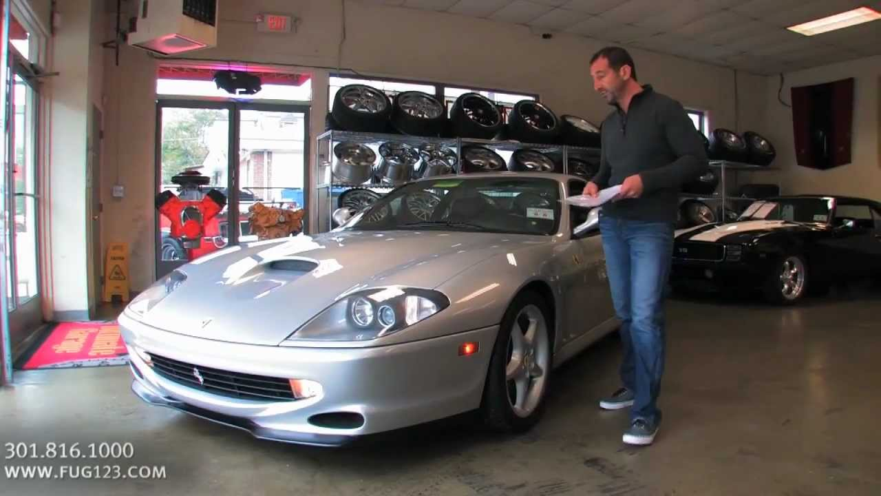 1999 Ferrari 550 Maranello for sale with test drive, driving sounds