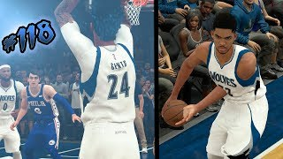 NBA 2k18 MyCAREER S2 - INTENSE Down to the Last Shot! KAT DISLOCATES HIS SHOULDER! Ep. 118