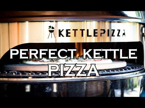 Perfect Kettle Pizza on the Weber Kettle // with Kettle Pizza Deluxe