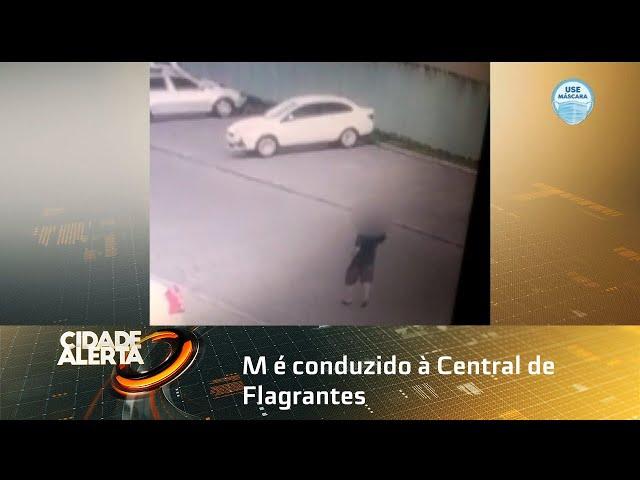 PM é conduzido à Central de Flagrantes depois de fazer vários disparos para cima