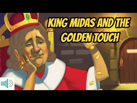 King Midas and the Golden Touch for Kids READ ALOUD - Myths and Legends for Children
