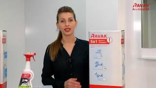 Обзор набора смесителей для ванны Ravak Classic 5-в-1