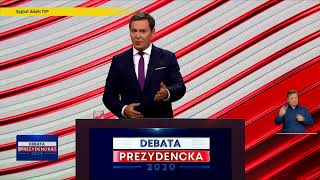 Debata prezydencka - 6.05.2020