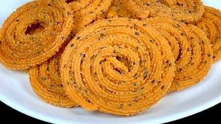 1 கப கதம மவ பதம மறமற மறகக உடன ரட  Instant Murukku Recipe In Tamil Easy snacks