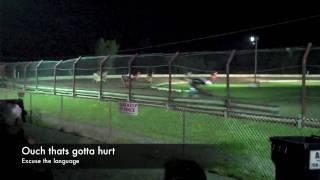Devil's Bowl Speedway (Vermont) Crash