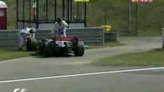 Montoya retires from 2006 F1 European GP