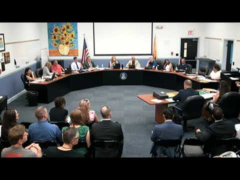 Marlboro Township Board of Education Meeting July 31, 2018