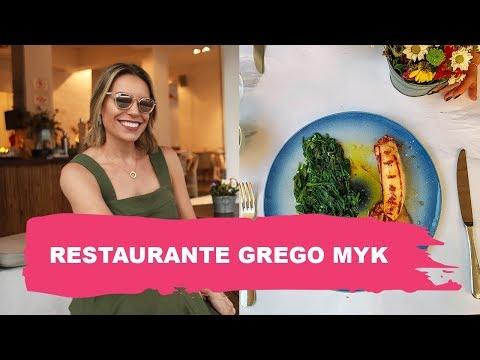 RESTAURANTE GREGO - MYK  VISITA A RESTAURANTE  Go Deb