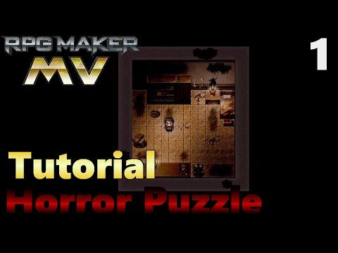 1]Tutorial RPG Maker MV How to Make a Horror Puzzle Game - Intro