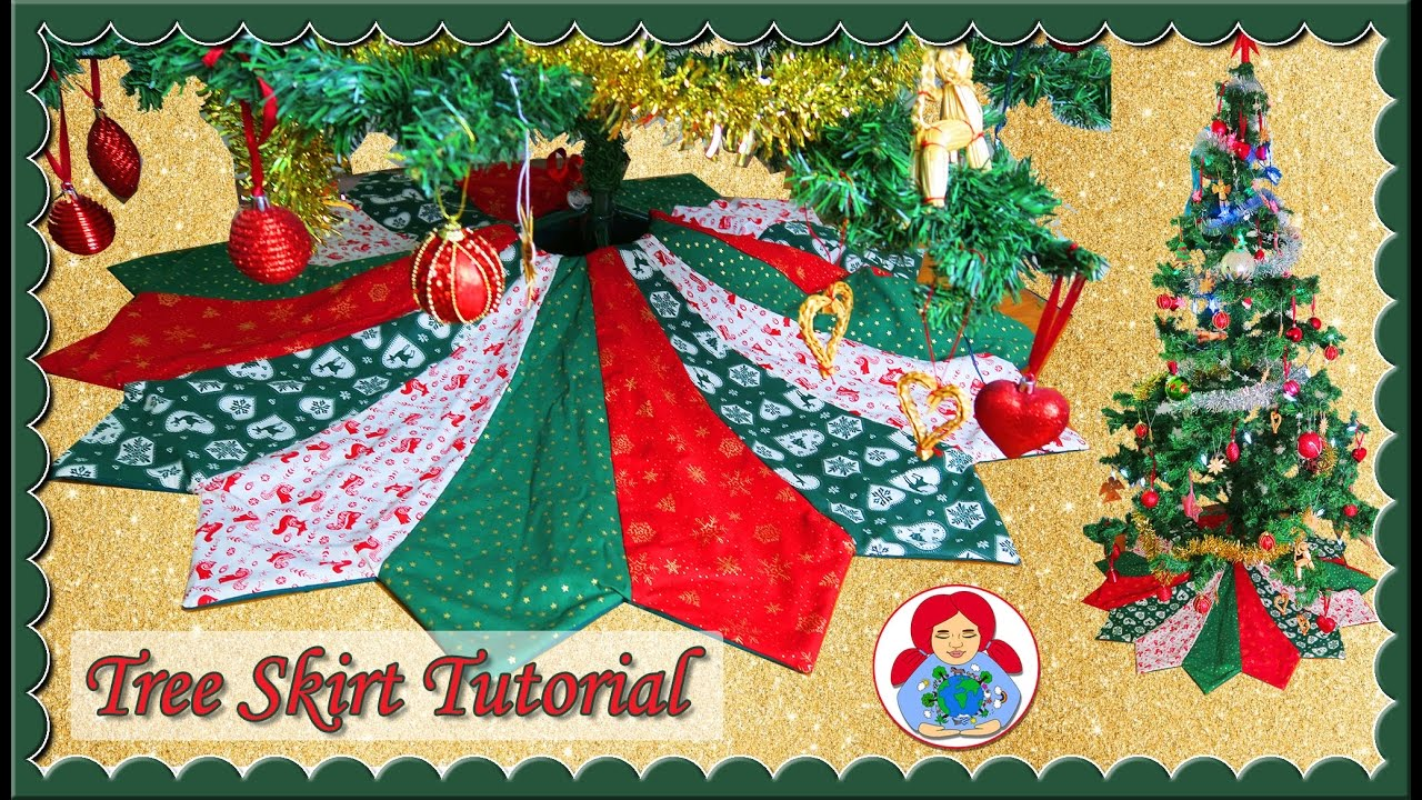 diy holiday tree skirt free pattern sami doll tutorials