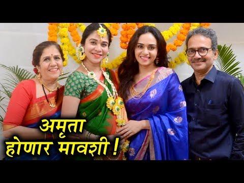 Amruta Khanvilkar At Her Sister's Baby Shower | Satyameva Jayate | Marathi Movie