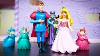 Disney Princess Little Kingdom Sleeping Beauty Story Collection Aurora Prince Phillip Maleficent