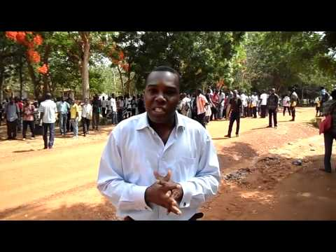Live Reporting from Lomé, Togo University