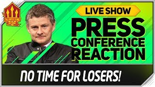 Solskjaer Press Conference Reaction! Everton vs Manchester United