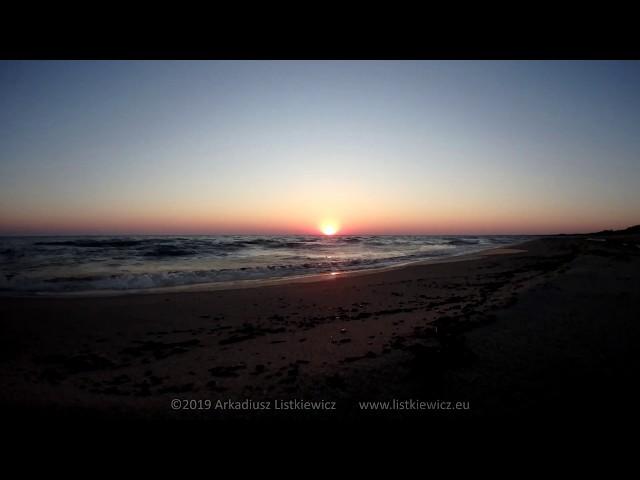 Wyspa Sobieszewska - Ptasi Raj, wschód słońca (4K)