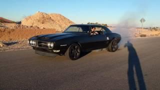 Pro touring 1968 firebird burnout!
