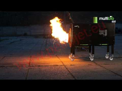 Hořáky a kotle Petrojet Multibio 30 - 600kW