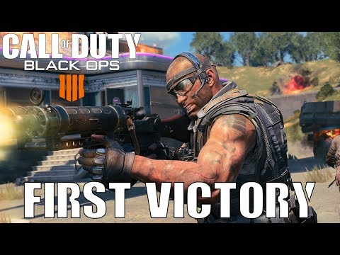 My First Blackout Victory - Call of Duty Black Ops 4 Blackout   Beta