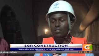 SGR second phase expected to be completed end year