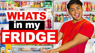 100 WEIRD THINGS In My HUGE Fridge!