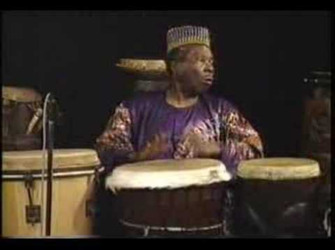 Babatunde African Drum Performance