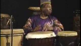 Babatunde African Drum Performance.