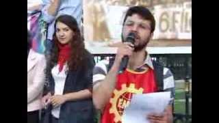 DENİZLER ANILDI   Emek Gençliği Dolmabahçe de denizleri andı 2013