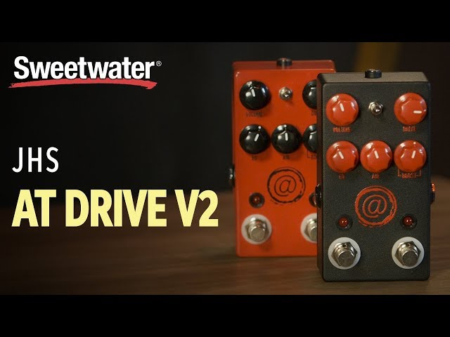 JHS AT Drive V2 Overdrive Pedal Review