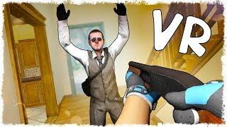 ГОНКА ВООРУЖЕНИЙ В CS:GO VR!!!