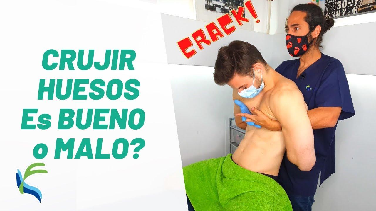 ¿CRUJIR los HUESOS es MALO o BUENO? | FIsiolution