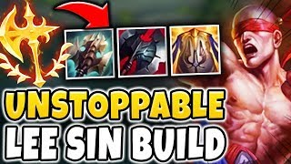 THIS LEE SIN BUILD IS LITERALLY UNSTOPPABLE! RANK 1 LEE SIN GAMEPLAY (1V9 CARRY) - League of Legends