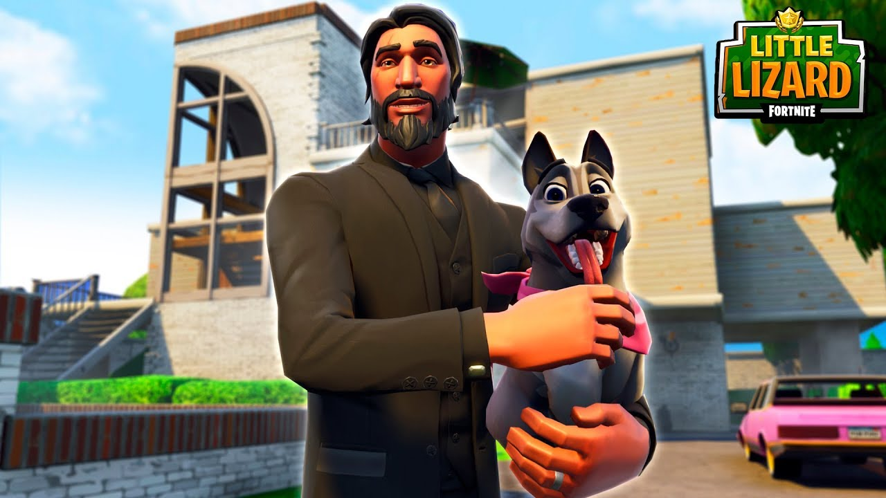 john-wick-gets-reunited-with-his-puppy-new-pets-season-6-fortnite-short-films