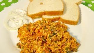 Paneer Bhurji (scrambled Cottage Cheese)