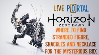 Horizon Zero Dawn - Death Stranding - Stranded Figure, Necklace And Shackles For The Mysterious Box